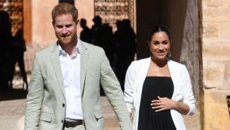 Los duques de Sussex durante una visita a Marruecos