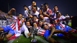 Atlético de San Luis celebra su título de la Liga de Ascenso