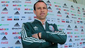 Gerardo Torrado, en las instalaciones de la Femexfut