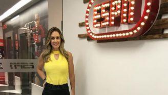Nelly Simón, en las instalaciones de ESPN