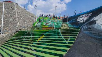 Estadio Hidalgo antes de recibir el encuentro entre Pachuca y Atlas