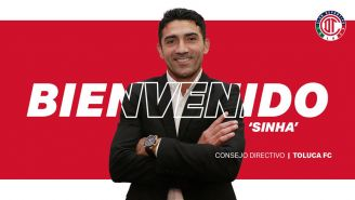 Llamado de Toluca sobre la llegada de Sinha
