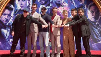 Actores de 'Avengers' en la alfombra roja de 'Endgame'