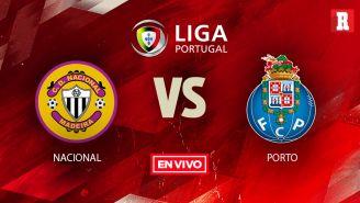 EN VIVO y EN DIRECTO: Nacional de Madeira vs Porto