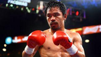 Manny Pacquiao durante un combate