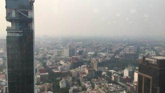 Valle de México con mala calidad de aire