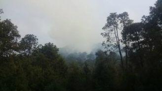 Un incendio en Tlalpan