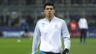 Erick Gutiérrez, previo a disputar un juego con el PSV
