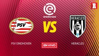 EN VIVO y EN DIRECTO: PSV vs Heracles