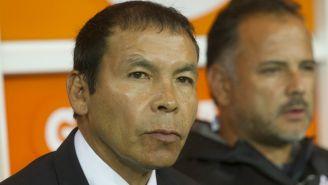 José Cruz durante un partido entre Atlas y Chivas