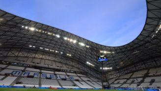 Cancha del Stade Vélodrome, casa del Olympique de Marsella