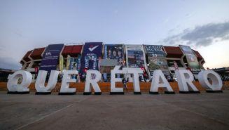 Estadio La Corregidora previo al encuentro entre Querétaro y Chivas