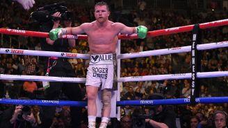Canelo Álavarez  espera la reanudación de la pelea vs Jacobs