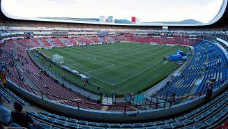 Así luce la cancha del Estadio La Corregidora