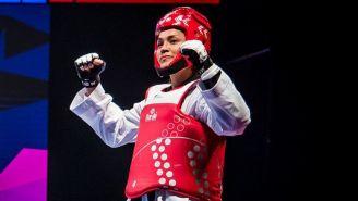 María Espinoza tras su combate con Lee Da-Bin