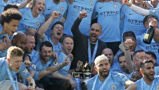 Guardiola festeja Título del Manchester City