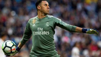 Navas, durante un duelo con el Real Madrid en La Liga