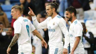 Kroos, Isco y Bale durante un partido con el Real Madrid