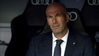 Zidane durante un partido el Real Madrid