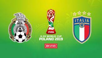 EN VIVO y EN DIRECTO: México vs Italia