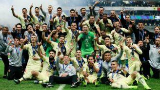 América festeja el campeonato del Apertura 2018