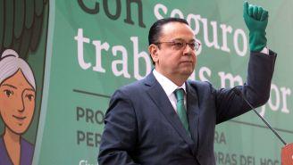 Germán Martínez Cázares durante una reunión en la CDMX