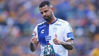 Edwin Cardona durante un partido contra Tigres