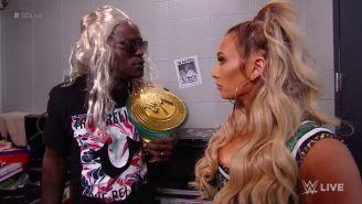 R-Truth y Carmella en SmackDown Live