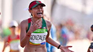 Lupita González en los Juegos Olímpicos de Río