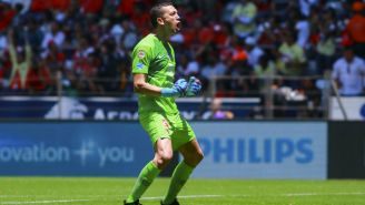 Marchesín festeja anotación del América en Liga MX