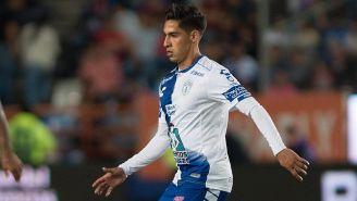Erick Aguirre, en el partido contra Veracruz del Clausura 2019