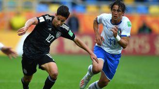 Lainez supera la marca de un defensor italiano en el Mundial Sub 20