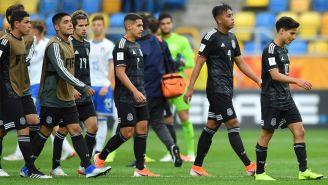 México lamenta derrota ante Italia en el Mundial Sub 20