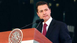 Enrique Peña Nieto, durante un evento en su sexenio como presidente de México