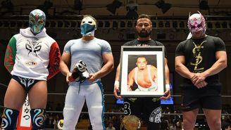 Homenaje a Silver King en New Japan Pro Wrestling