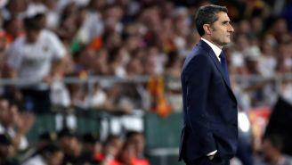 Ernesto Valverde durante la Final de la Copa del Rey