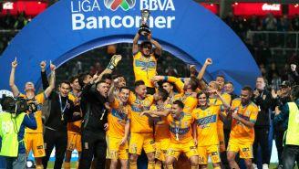Tigres festeja su Título en el Apertura 2017