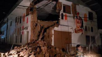 Los daños que dejó el terremoto en Perú