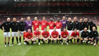 Leyendas del Manchester United se reúnen en el Old Trafford
