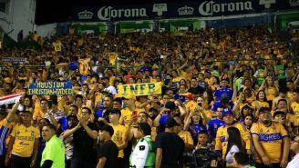 Afición alienta Tigres en la Final del Clausura 2019