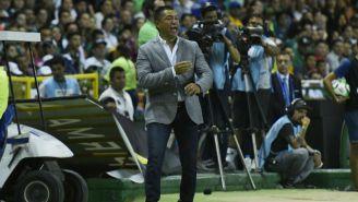 Nacho Ambriz durante la Final de Vuelta ante Tigres