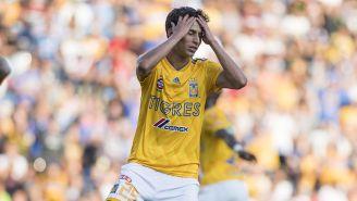 Jürgen en lamento durante un partido con Tigres