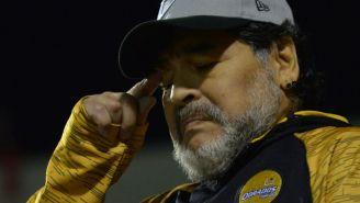 Maradona, en el banquillo de Dorados