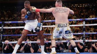 Andy Ruiz Jr. golpea a Anthony Joshua en Madison Square Garden
