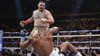 Andy Ruiz deja sobre la lona a su rival