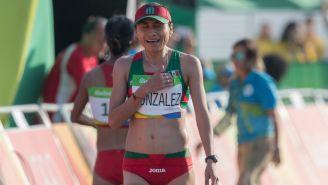 Lupita González durante los Juegos Olímpicos de Río 2016