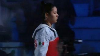Briseida Acosta en el Grand Pix de Roma