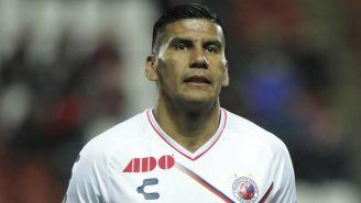 Salcido, en un partido del Veracruz