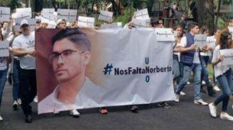 Personas marchan para exigir justicia sobre Norberto
