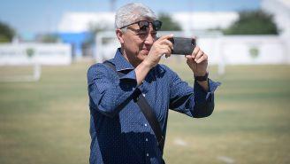 Chucho Ramírez, en la Cantera 2 de Pumas